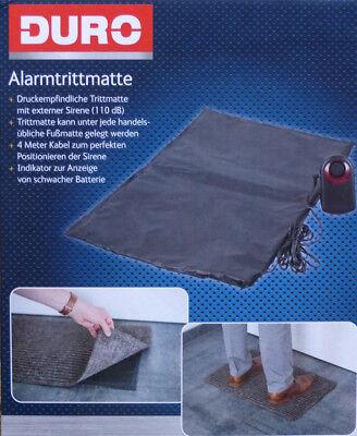 Alarmtrittmatte mit externer Sierene 110 dB Trittmatte Sensormatte Alarmanlage