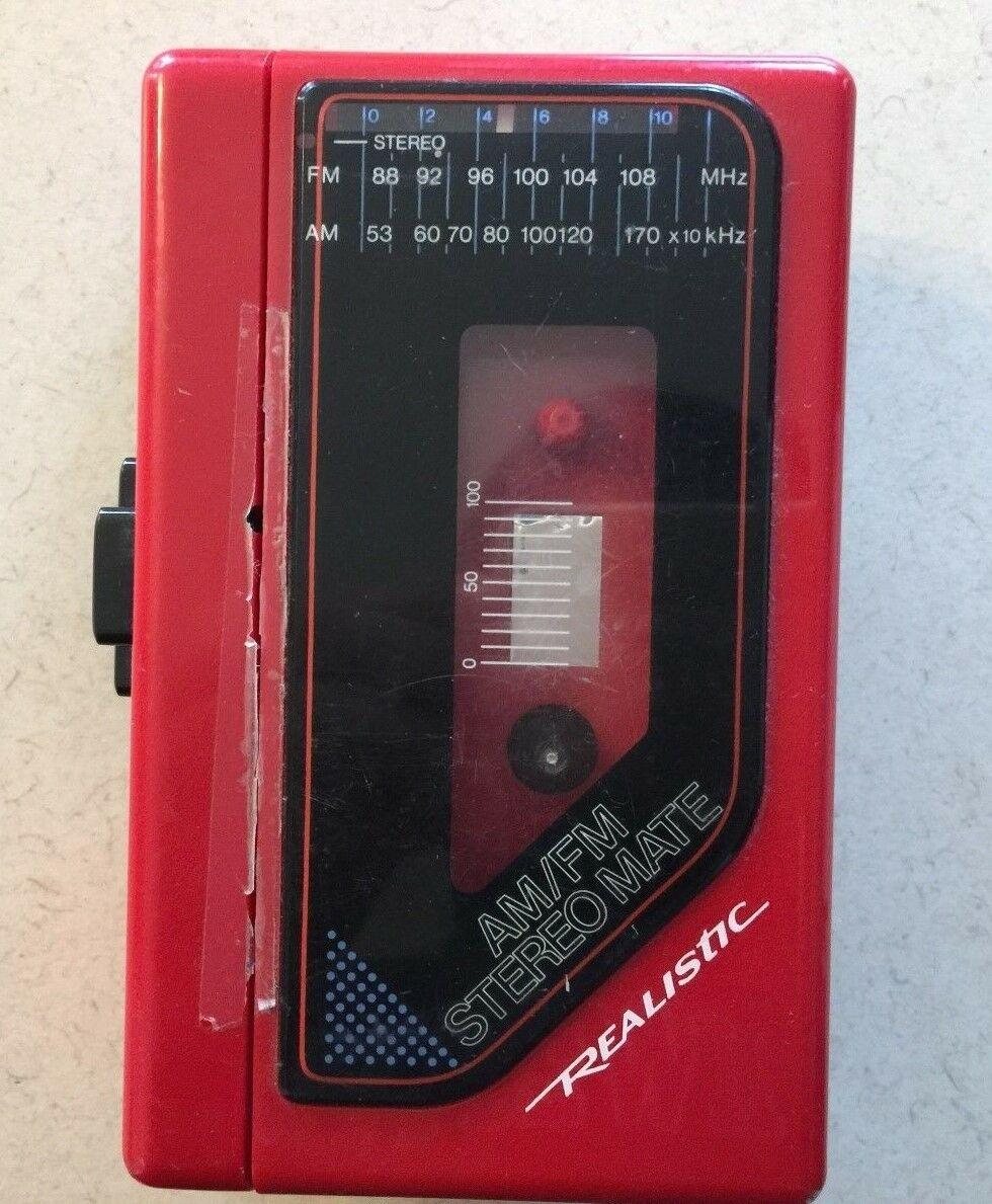Realistic AM/FM Stereomate Model 14-1072 Working Condition PLEASE READ  - $22.95
