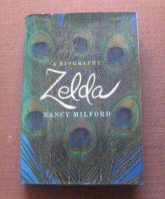 Zelda Fitzgerald Biography By Nancy Milford   1970 Hcdj 1St 1St   Vg  Gatsby