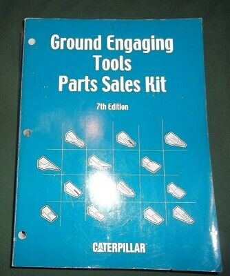 Cat Caterpillar Ground Engaging Tools Manual Parts Sales Kit 7th Edition