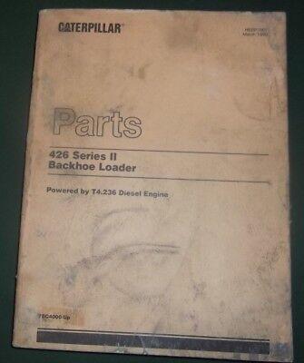 Cat Caterpillar 426 Series Ii Backhoe Loader Parts Manual Sn 7bc04000-up