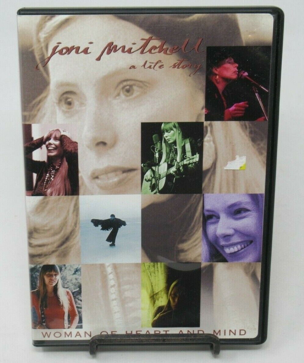JONI MITCHELL WOMAN OF HEART MIND DVD DOCUMENTARY, STORY OF HER LIFE JOURNEY - $9.99