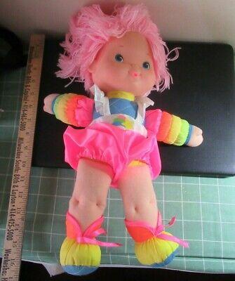 Rainbow Brite vintage Baby Brite doll Hallmark
