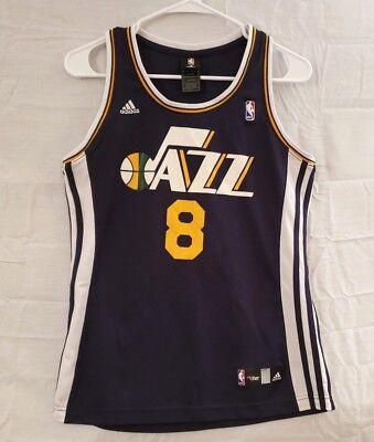 Adidas NBA Utah Jazz  8 Williams Dark Purple Basketball Jersey Youth Size M 8f99ce121