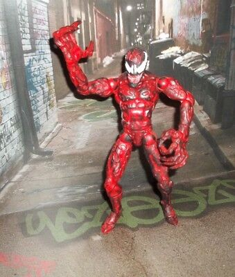 MARVEL LEGENDS SPIDER-MAN SERIES SPIDER TRAPPING CARNAGE FIGURE TOY BIZ 2001
