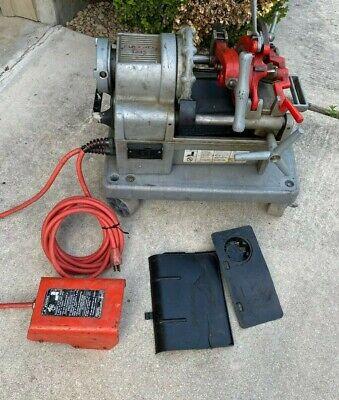 Used Ridgid Model 1215 Threading Threader Machine