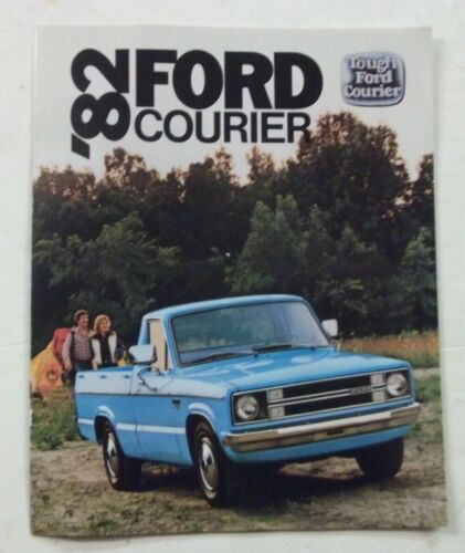 1982 Ford Courier Sales Brochure