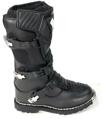 Stivali stivaletti con protezioni per mini moto da cross quad x bambino bimbo