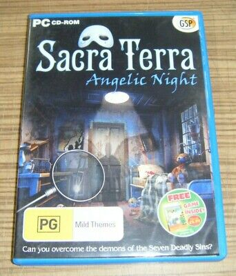 game computer - PC CD-ROM Computer Game - Sacra Terra: Angelic Night
