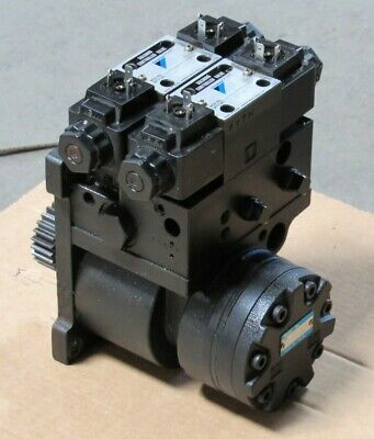 Daikin Positioning Motor Tm10fi-3r22-af8n-10-008 W Valve Daewoo Puma 200 Lathe