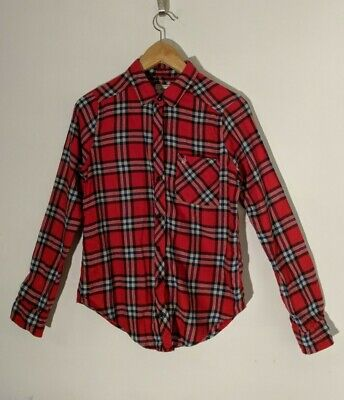 Flannel abercrombie and fitch shirt great condtion S
