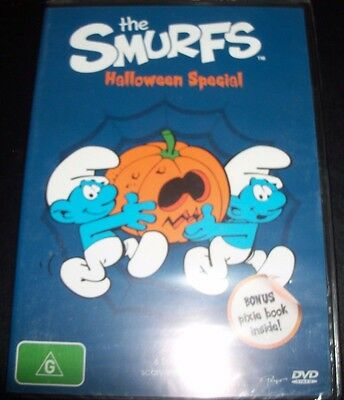 The Smurfs Halloween Special (Australia Region 4) DVD – New - Smurf Halloween Dvd