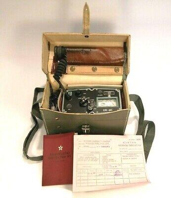 Dr-m3 Radiation Detector Yugoslavian Military Geiger Counter Dosimeter Beta Gama