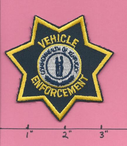 Commercial Vehicle Law Enforcement Kentucky KY State Police Hat Cap Patch - KVE