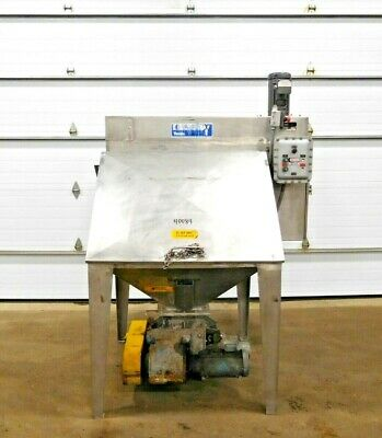 Mo-3407 Young Industries Bag Dump Station W Rotary Airlock. 304 Ss. Fbd 42-8.