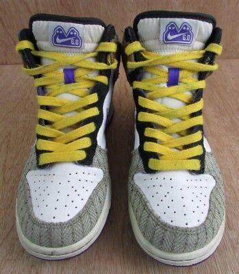 - Nike 6.0 Dunk High Top Shoes Womens Size 7 342257
