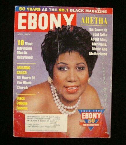 EBONY Magazine April 1995 Aretha The Queen of Soul