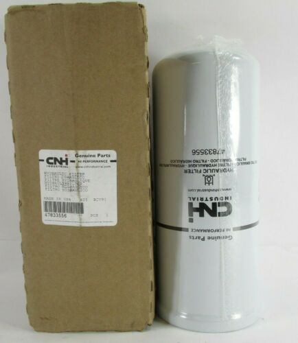 Genuine CNH Industrial Hydraulic Oil Filter Part #47833556