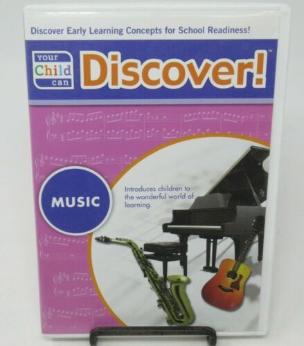 YOUR CHILD CAN DISCOVER! MUSIC AUDIO CD, HOW-TO HUM OR SING THE NOTES IN PITCH