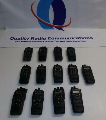 13 Motorola Mototrbo Xpr6550 Aah55qdh9la1an 403-470 Mhz Uhf Two Way Radio
