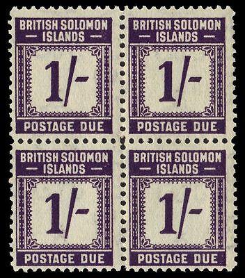 "SOLOMON ISLANDS J7 (SG D7) - Numeral of Value ""Postage Due"" (pa30254)"