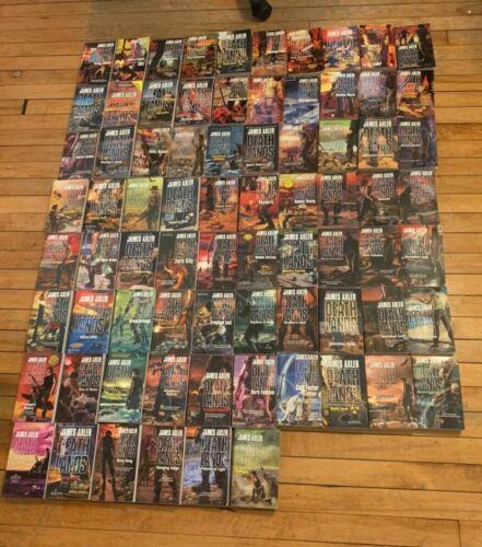 Vintage 76 book lot Deathlands series by James Axler Paperback Books lot