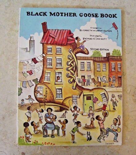 BLACK MOTHER GOOSE SECOND EDITION ELIZABETH OLIVER BOOK  PAPERBACK
