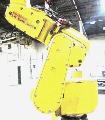 Fanuc Lr Mate 200ib Robot 6 Axis Table Top Industrial Robot Type A05b 118 B201