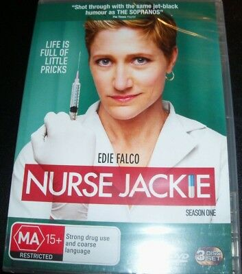 Nurse Jackie Season One 1 (Australia Region 4) DVD – New for sale  Shipping to Canada