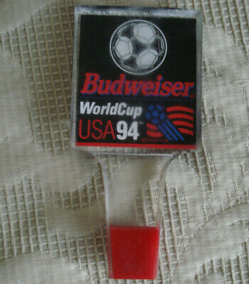 Vintage Budweiser USA '94 World Cup Soccer Beer tap