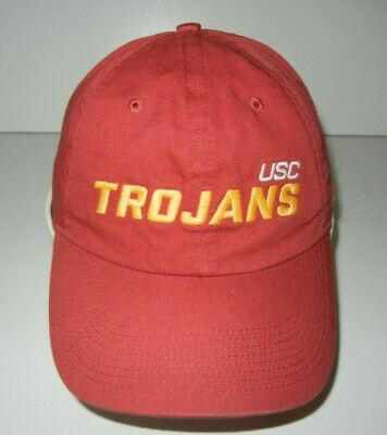 Nike SOUTHERN CAL USC TROJANS Football Team COLLEGE HAT Red Fan Gym Baseball Cap for sale  Shipping to Nigeria