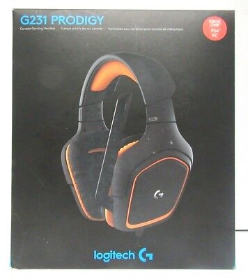 Noblogitech G231 Prodigy Gaming Headset  Game Quality Stereo Sound