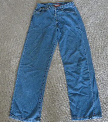"""A. GOLD E. JEANS VTG DESIGN HIGHER WAIST LOOSE FIT BUTTON FLY & """"BARBEE"""" STYLE"""