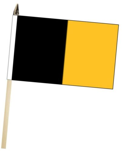 Ireland Kilkenny County Gaelic Games Colours Large Hand Waving Courtesy Flag