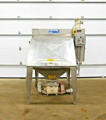 Mo-3406 Young Industries Bag Dump Station W Rotary Airlock. 304 Ss. Fbd 42-8.