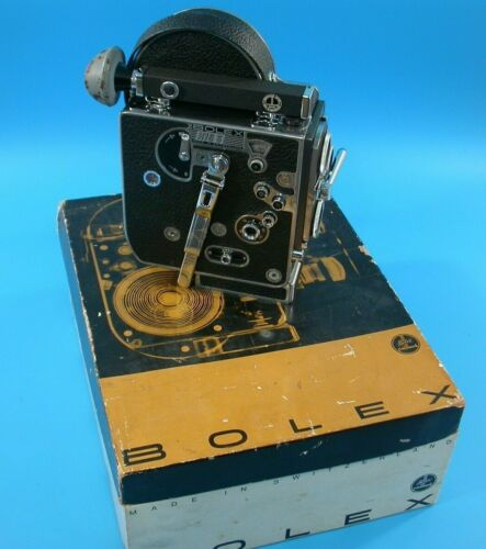 Bolex H16S 16mm Movie Camera
