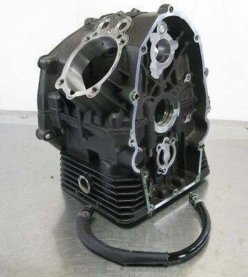 Moto Guzzi V7 750 Cafe Classic 2010 10 Engine Crank Case Cases Block 3K Miles