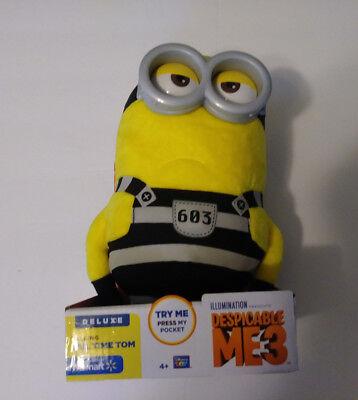 Despicable Me 3 Deluxe Talking Jail Time Tom Plush Walmart Exclusive Minion - Walmart Minions