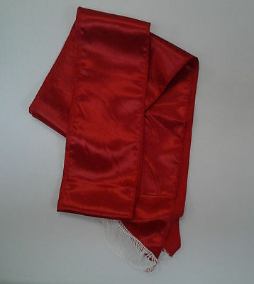 Red Sash Pirate Sash Prince Royal Princess Queen Belt Costume Accessory - Red Pirate Costume