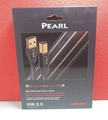 AUDIOQUEST PEARL CABLE USB A-B 1,5 METROS NUEVO