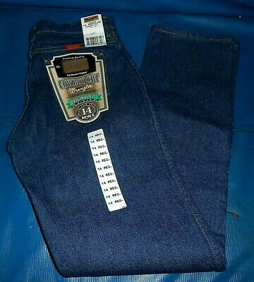 Girls Wrangler 14MWZ Jeans Cowboy Cut Original Fit SZ 14 REG. WST  26.5 U.S.A. - Girls Original Fit Jeans