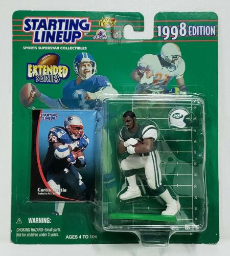 Curtis Martin New York Jets Uniform Brand NEW Starting Lineup 1998 Edition