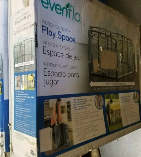 Evenflo Versatile Play Space Indoor & Outdoor Play Space Easy & Quick Assembly