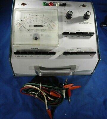 Heathkit Electronic Fet Transistor Tester Model It-3120 Ham Radio Transmitter