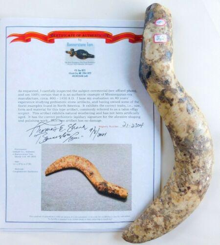 KILLER Rare DeKalb Co Alabama Ceremonial Talon Effigy Scepter Shenk Collection
