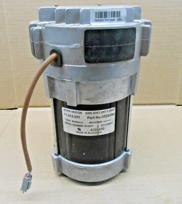 1 New Amk 8522394 Yale 5800434-81 Power Steering Blpm Motor 48v 15kw 11.213.031