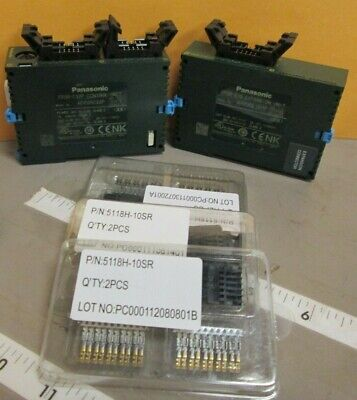 Panasonic Electric Fp0r-c32p Controller And Fp0r-e16 Expansion