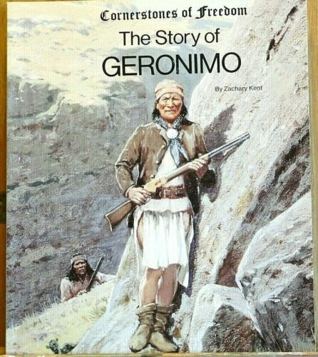 NEW! The Story of Geronimo - by Zachary Kent - Native American Indian Book