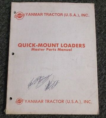 Yanmar Tractor Yfl 1000 1075 1500 1575 Loader Lpk 1500 Parts Catalog Manual