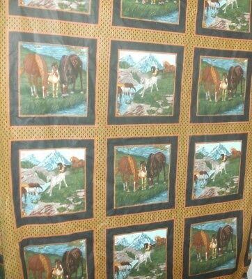 Scene Quilt Fabric - 112